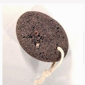 2 Natural Black Volcanic Lava Rock Pumice Stone